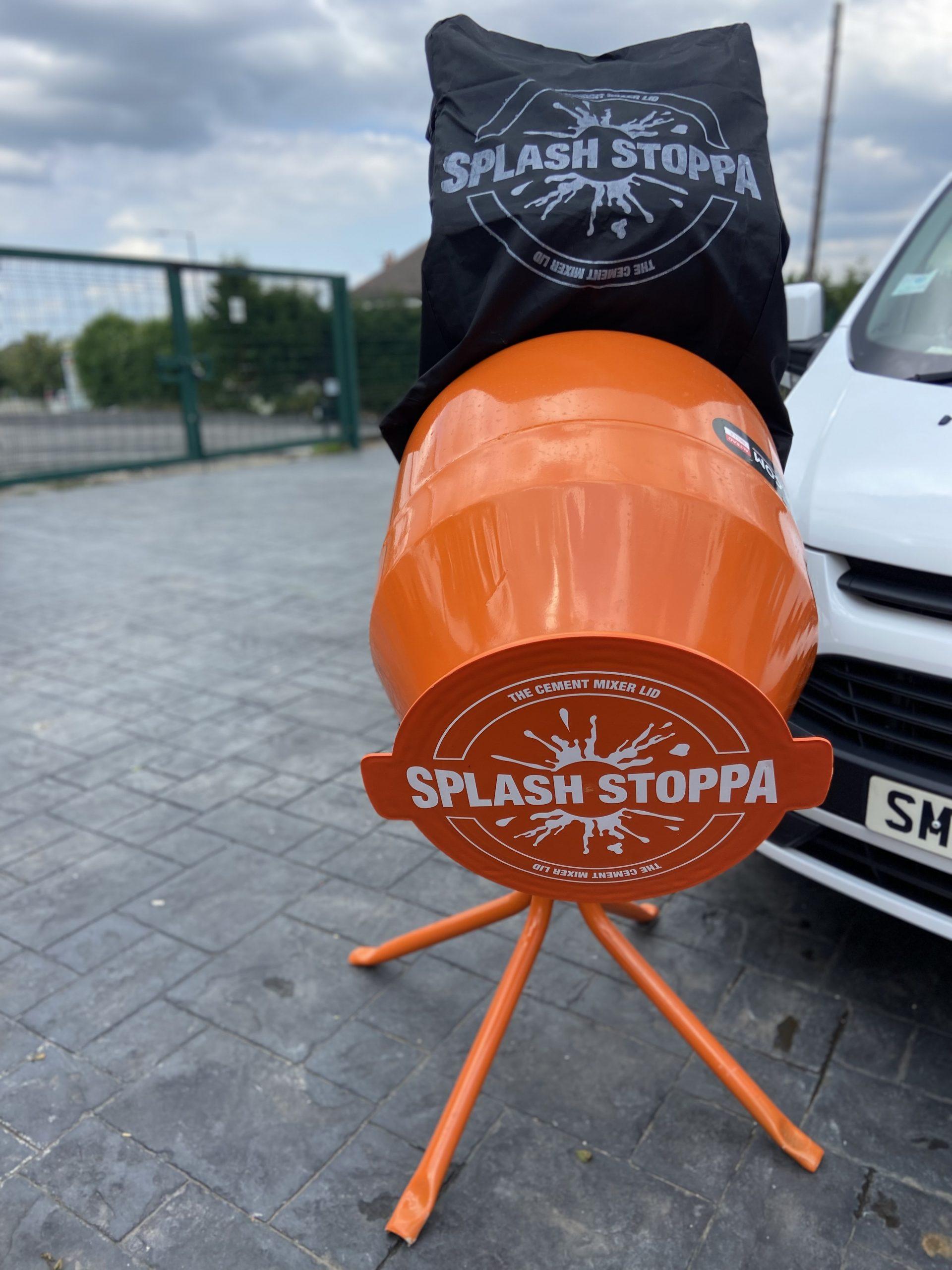 Cement Mixer Lid Splash Stoppa
