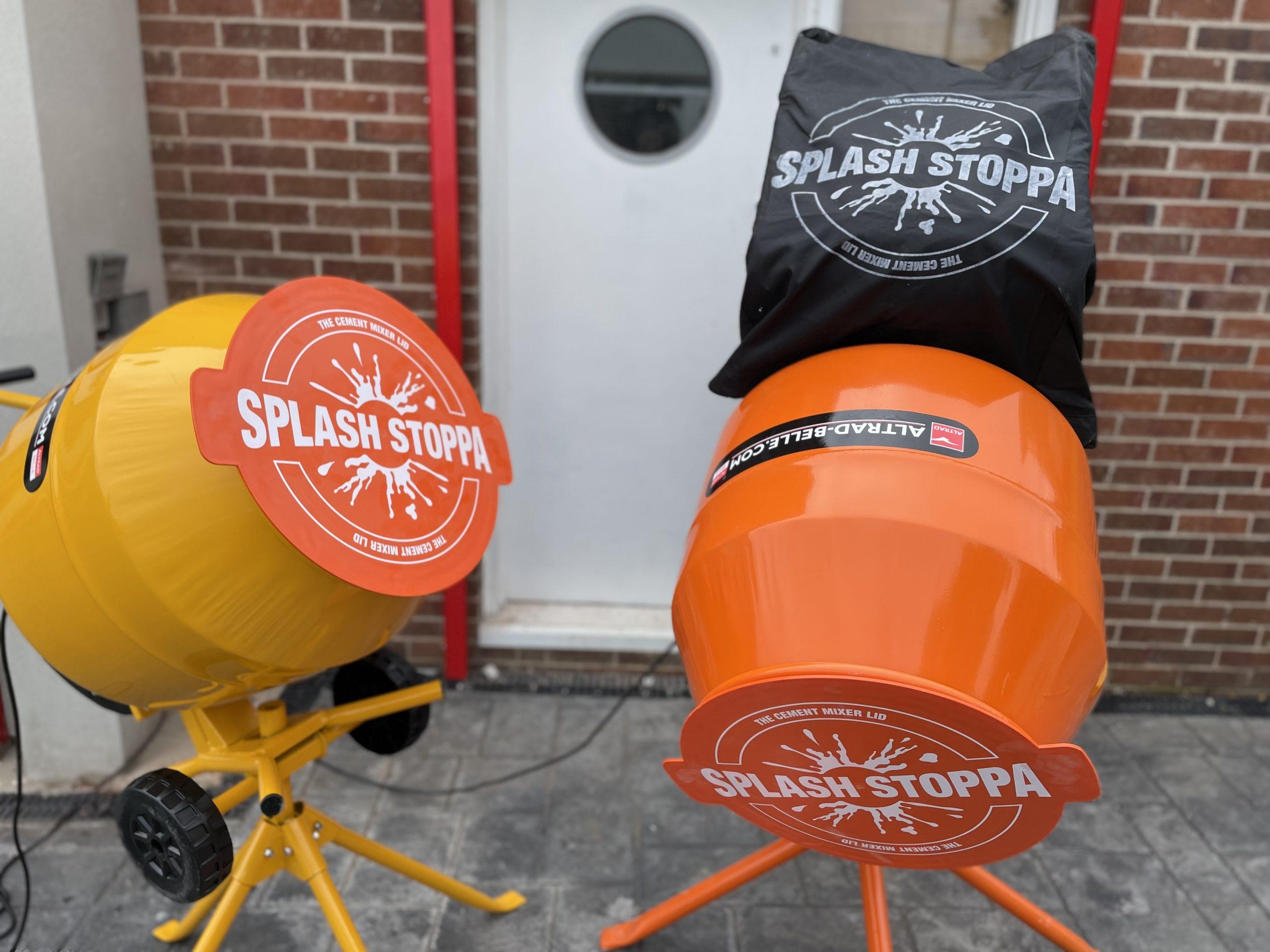 Cement-Mixer-Lid-Splash-Stopper