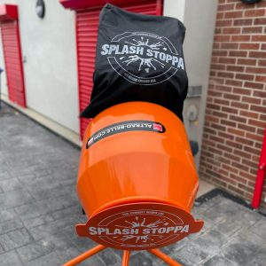 Cement mixer lid cover